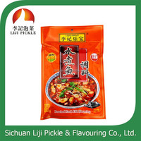 spicy flavor chinese food fish seasoning sauce