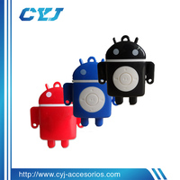 mp3 players with long battery life in cute android robot shape