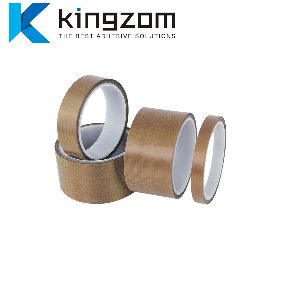 Adhesive tapes High strength backing provides superior resistance PTFE fabric tape