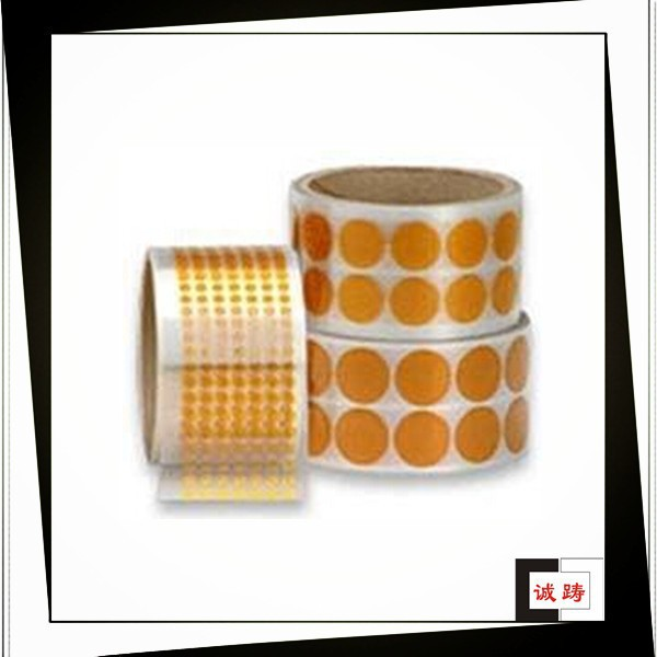 Silicone adhesive die cutting double sided polyimide tape