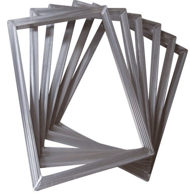 Silk Aluminum Frames with Polyester Mesh for PCB
