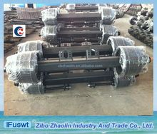 Low-alloy steel Germany type 14T heavy truck rear axle with customer specify