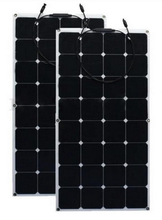 China Semi Flexible Solar Panel manufacturer 50w 100w 150w solar panel home solar system