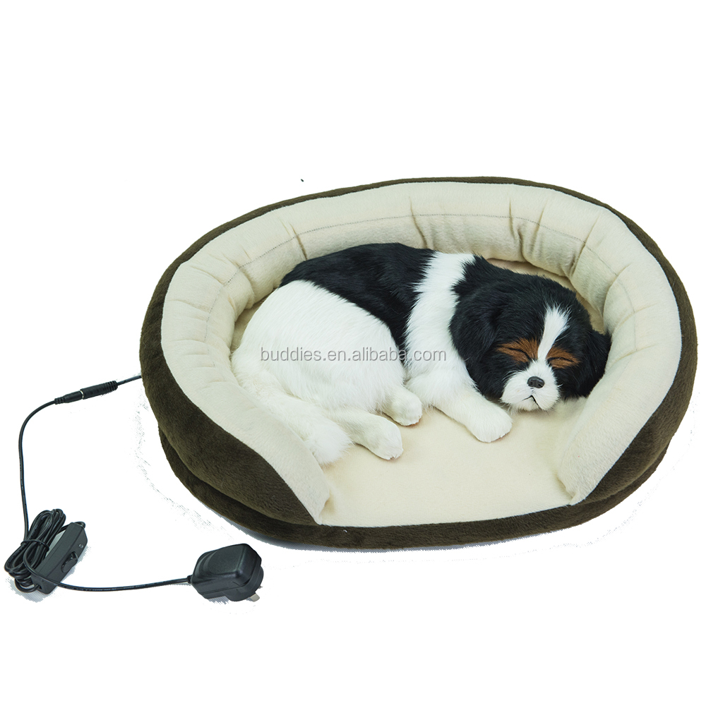 electric heated warm pet dog bed / cat bed for small animals