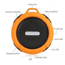 Colorful Portable Wireless Out Bluetooth Speaker with Mic Handsfree Functions
