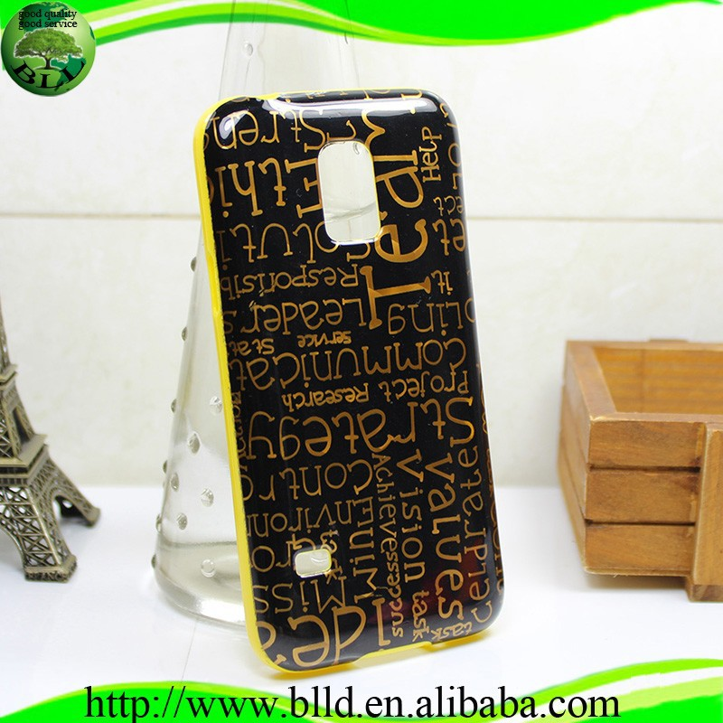 Gold print Various IMD Design TPU plastic smartphone cases and covers