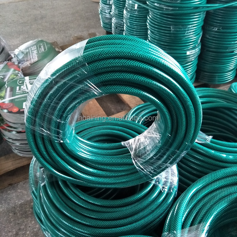 <strong>PVC</strong> Fiber Reinforced Hose Pipe / Braided Spiral Transparent <strong>PVC</strong> Steel Wire Hose / Flexbile <strong>PVC</strong> Garden Hose