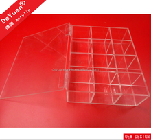 Clear acrylic tea bag box / acrylic tea bag organizer