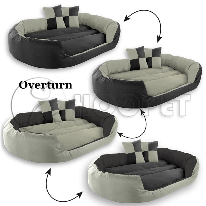 Elegant Dogs Puppies Beds Wholesale Large Hoopet Lucky Pet Dog Beds Manufacturer Competitve Price Reviseble Dog Bed
