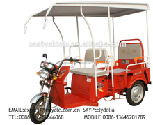 3 wheeler electric bicycle for passenger