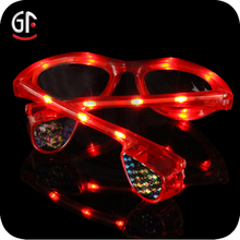 Cheap Decoration Products With Logo Lens Flashing Led Sunglasses