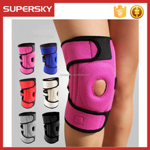 B711 Popular Series open knee patella pads waterproof elastic adjustable neoprene knee support