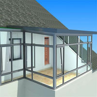 stylish aluminium garden room