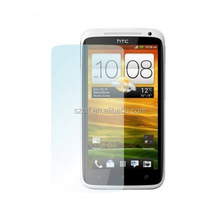 Best selling lcd screen guard ultra clear mobile phone screen protector with design for htc one x screen protector