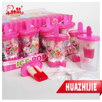 High quality kids ice cream fruity flavour lollipop