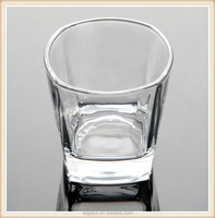 water drinking glass square glass cup