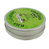 Wholesale gift packaging CMYK printing round wax tin container