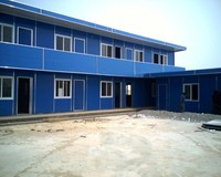 Prefabricated House/Prefab House/Mobile Container House for Labor Camp/Hotel/Office/Accommodation