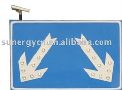 High quality solar powered led street lighting roadway safely signal