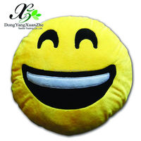 XZ-01E Dongyang XuanZhe PP Cotton 2016 Popular New Design Plush Emoji Pillow Stuffed Smiley Emoticon Octopus Plush Toy