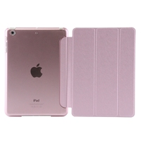 Best sales Smart Magnetic Case Leather Skin Cover Stand PU cover for ipad mini 2/3