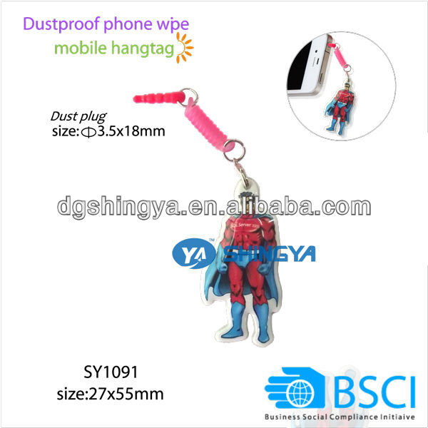 3.5mm a prueba de polvo teléfono limpie con colgar (BSCI fábrica Auditoría) - ANKUX Tech Co., Ltd