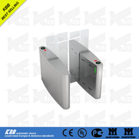 automatic slide gate turnstile from china suppliers with low price access control dc motor CE certificate