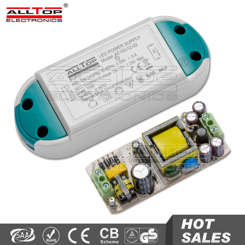 TUV SAA EMC LVD Certification Constant Voltage 24W 12v 2a led driver