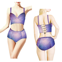 (Trade Assurance) Sexy Women Summer lycra dry fit anti-uv Beachwear & Swimsuit