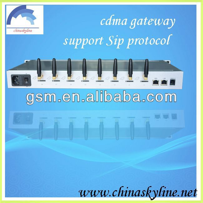 CDMA gateway/call terminalasterisk wireless sip phone