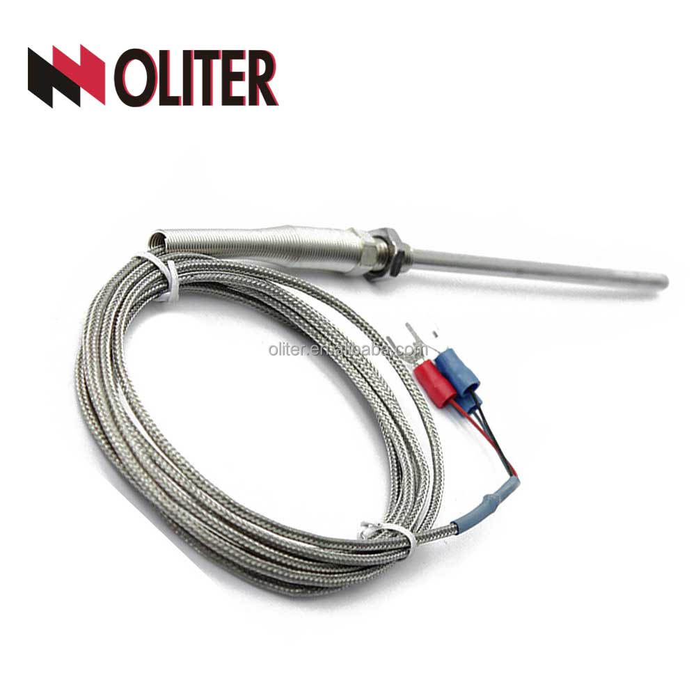 threaded temperature sensor controller thermocouple pt1000 pt100 Rtd temperature transmitter