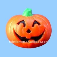 resin halloween smile pumpkin