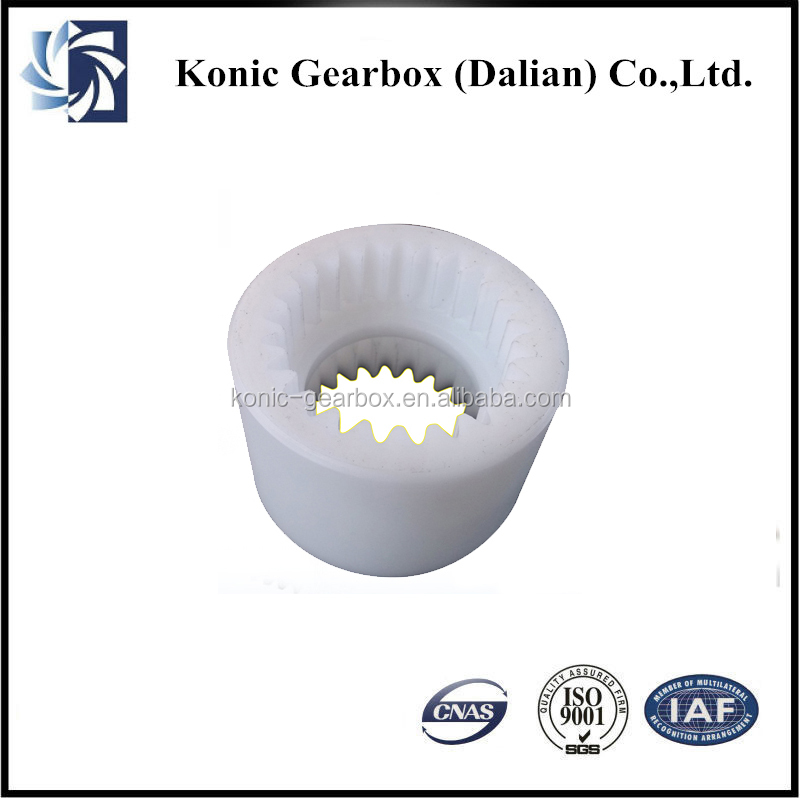 Professional OEM design durable large plastic spur gear