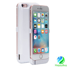 PC material battery invisible bracket cell phone case for iphone5/5s/6/6s/6plus with reasonable factory price and best quality