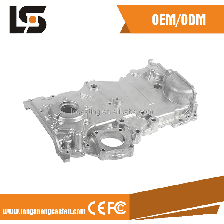 custom die casting parts and motorcycle engine parts of aluminium investment casting