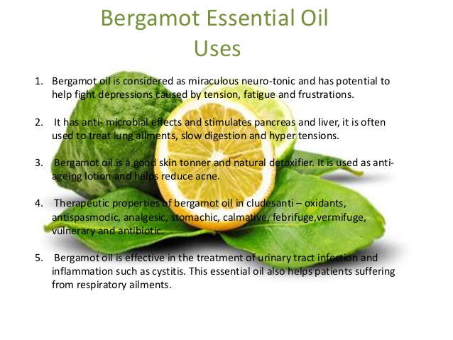 Hot Sale 100% Pure Bergamot Essential Oil