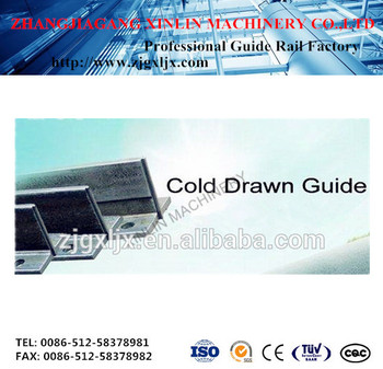 Main products cold drawn guide rail T45/A T50/A T70/A