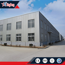 Economic design prefab steel structure factory shed /EPS sandwich panel type Steel structure prefab warehouse