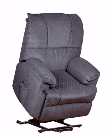 Comfortable Elderly Recline And Body Rise Leather Rocking Lift Chair