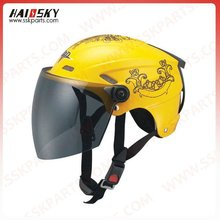 novelty open face helmets for motorcycle