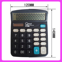 12 Digits promotional gift calculator for office desktop calculator GHY-837