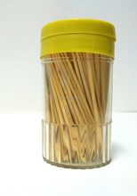 Diameter 1.3 mm Chinese Bamboo Mint Flavored Wooden bamboo Toothpick