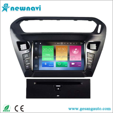 Android 6.0 touch screen car dvd player for Citroen Elysee / Peugeot 301 with gps navigation & car multimedia player