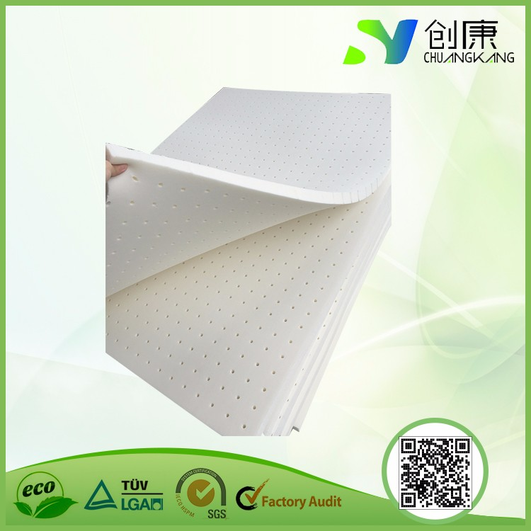 Environment friendly and harmless latex sheet material