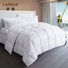 Luxury down alternative comforter super soft duvet white quilted quilt