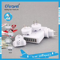 Wholesale Multi Universal travel adapter travel chargers with 6 USB other consumer electronics electrical plugs plug sockets