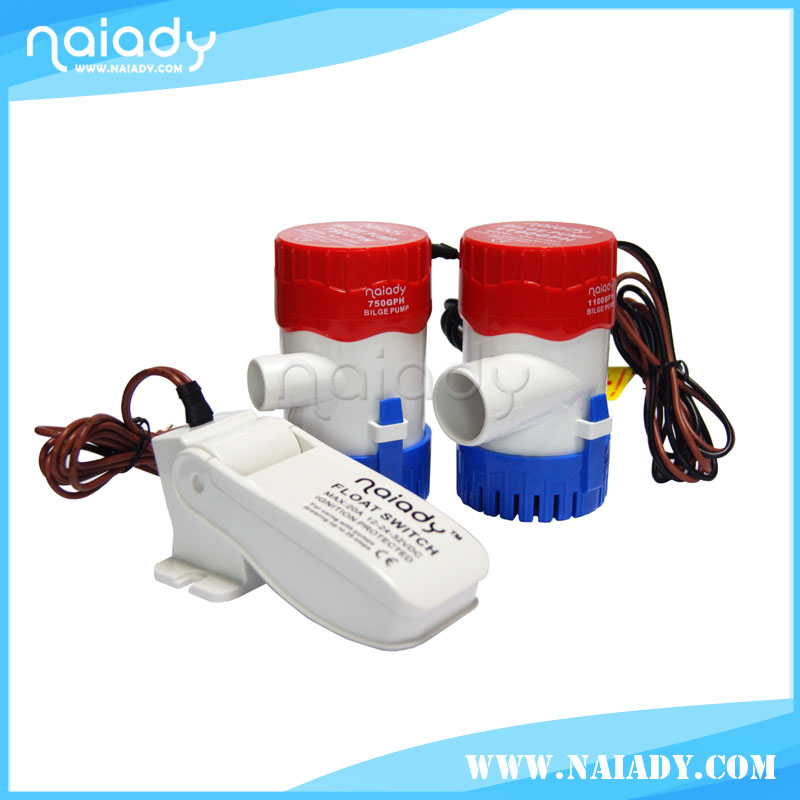 NAIADY 750GPH hydraulic bilge water pump for boat made in China