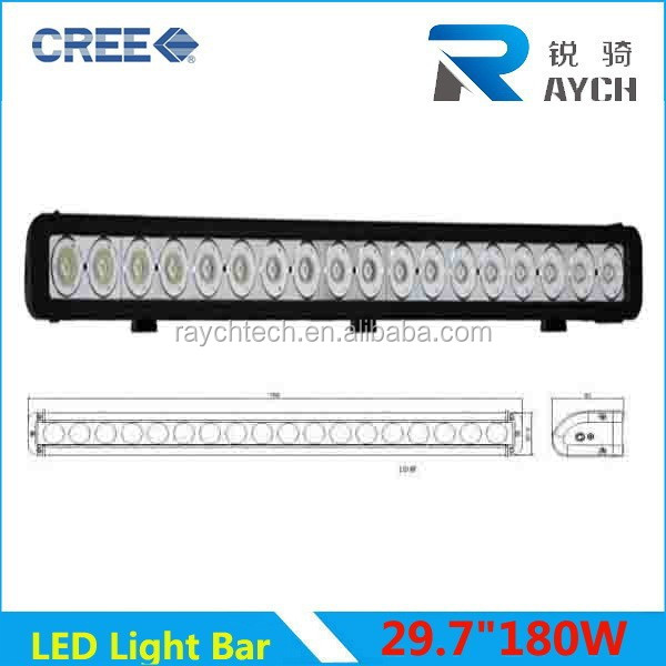 New Superbright one row 30inch battery powered boat one row led light bar / offroad truck light bar / light portable bar