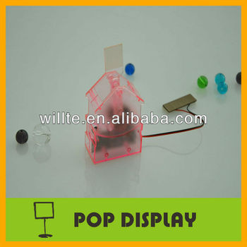 Supermarket shelf pvc wobbler
