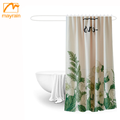 hotel shower curtain, bath curtain in 2cm (180*180cm), including plastic hooks
